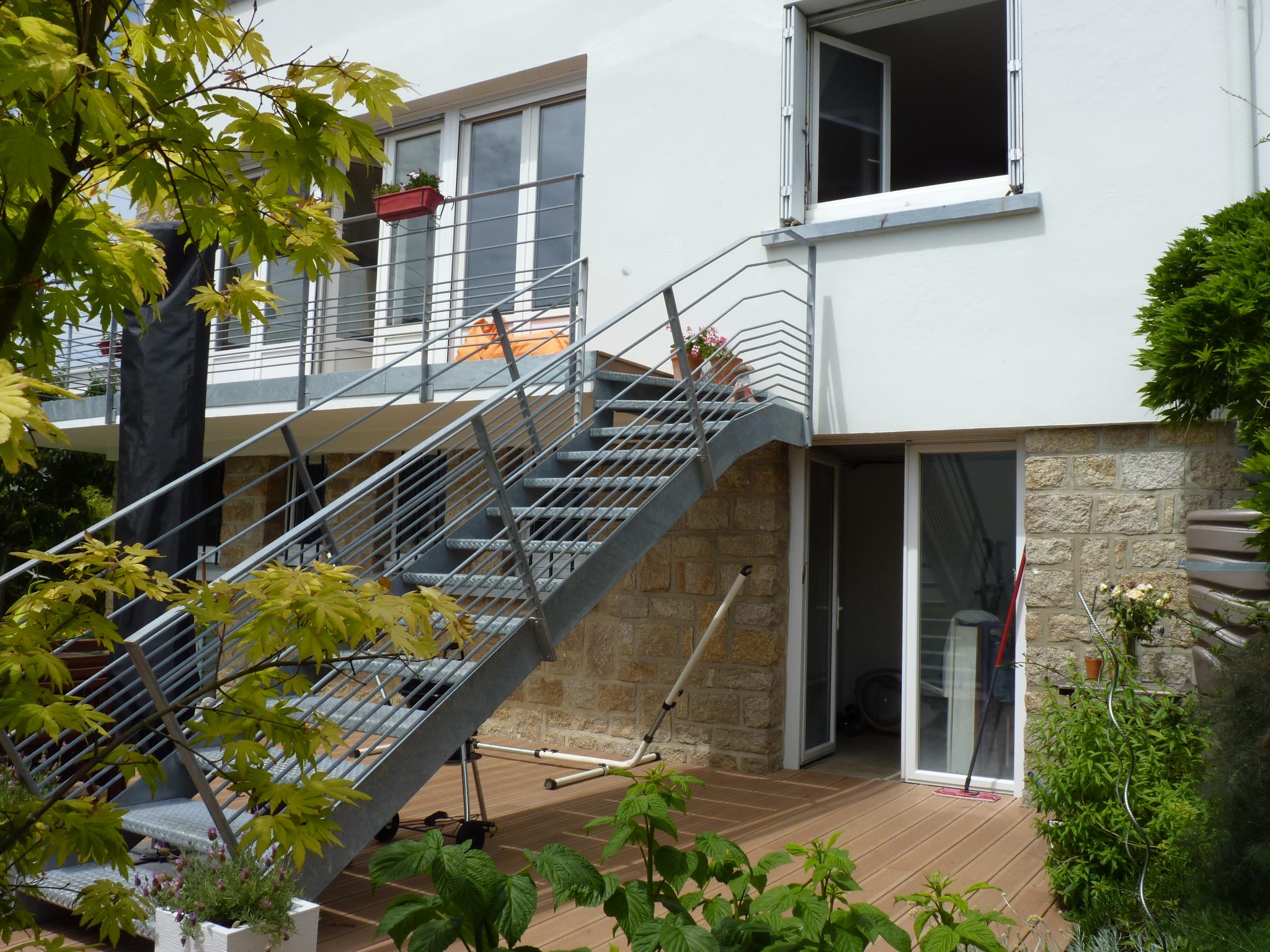 Lorient – Appartement 2 chambres avec jardin et garage