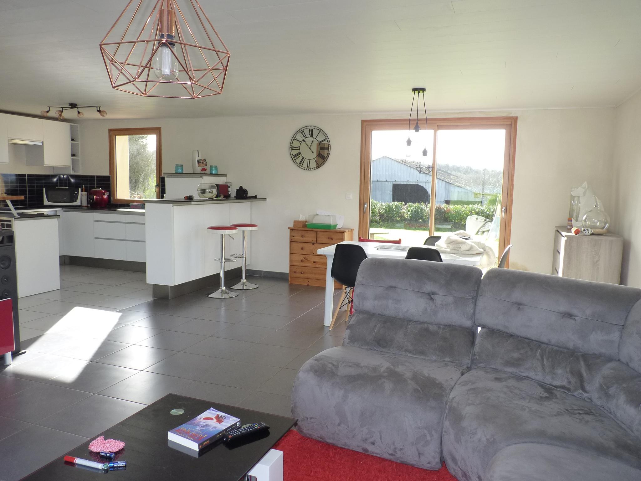 Scaër – Maison contemporaine 4 Chambres